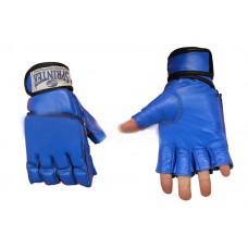 Перчатки для рукопашного боя.M синие 58-69