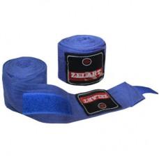 Бинты боксерские (2шт) Х-б ZEL ZB-3620-3(BL) (l-3м, синий)