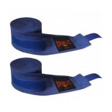 Бинты боксерские синие 2шт EVERLAST. Бинти боксерські