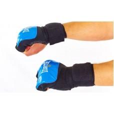Перчатки боксерские с бинтом  MATSA. Рукавички боксерські