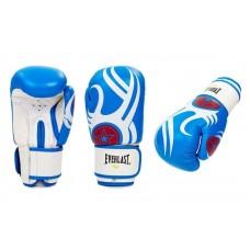Перчатки боксерские ELAST 6162B. Рукавички боксерські