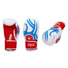 Перчатки боксерские ELAST 6162R. Рукавички боксерські