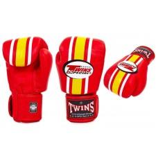 Перчатки боксерские TWINS RED. Рукавички боксерські
