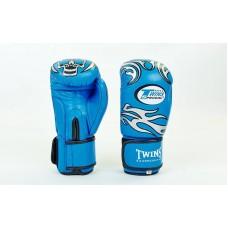 Перчатки боксерские TWINS 5436-B. Рукавички боксерські