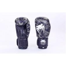 Перчатки боксерские VENUM 5430-BK. Рукавички боксерські