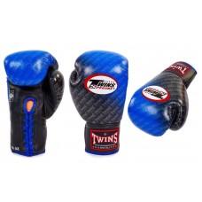 Перчатки боксерские TWINS на шнурке. Рукавички боксерські