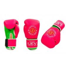 Перчатки боксерские LEV ELITE. Рукавички боксерські