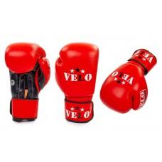 Перчатки боксерские профессиональные AIBA VELO. Рукавички боксерські