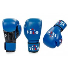 Боксерские перчатки профессиональные VELO 2081 . Рукавички боксерські