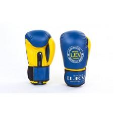 Перчатки боксерские LEV 4281. Рукавички боксерські