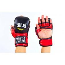 Перчатки гибридные для единоборств MMA  XL. Рукавички для єдиноборств MMA