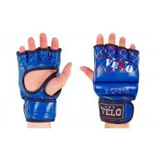 """Перчатки для смешанных единоборств MMA """"VELO"""" 4032. Рукавички для змішаних єдиноборств"""