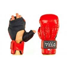 "Кожаные перчатки для рукопашного боя  ""VELO"". Рукавиці для рукопашного бою"
