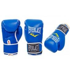 """Перчатки боксерские """"EVERLAST"""" 10-12 oz, красный, синий. Рукавички боксерські"""