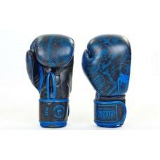 Перчатки боксерские кожаные на липучке VENUM 5796. Рукавиці боксерські