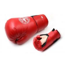 Перчатки для тхэквондо ITF MA-4767-R (р-р M-XL, красный)