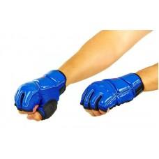 Перчатки для тхэквондо WTF BO-2016-B (PU, полиэстер XS-XL, синий)