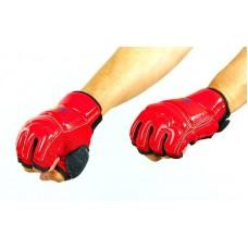 Перчатки для тхэквондо WTF BO-2016-R (PU, полиэстер XS-XL, красный)