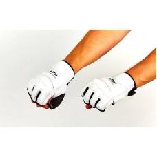 Перчатки для тхэквондо WTF BO-2016-W (PU, полиэстер XS-XL, белый)