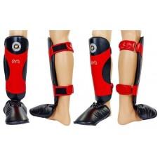 Защита голени и стопы для единоборств RIVAL. Захист гомілки й стопи