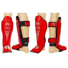 Защита спортивная для единоборств VELO. Захист гомілки й стопи