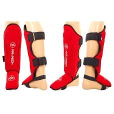 Защита для голени и стопы спортивная Zelart. Захист гомілки й стопи