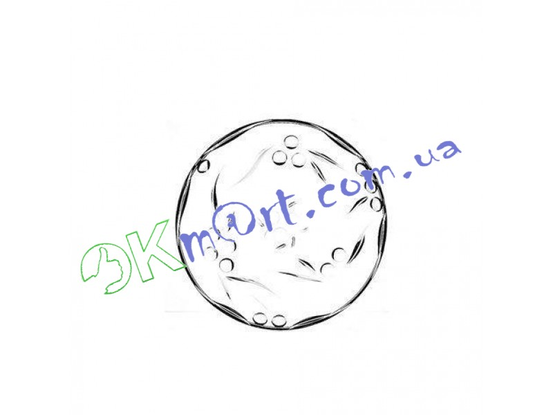 Набор тарелок Pasabahce Perla 19 см 6 шт (54208)