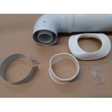 Коаксиальный дымоход для конденсационного котла CK-LN01